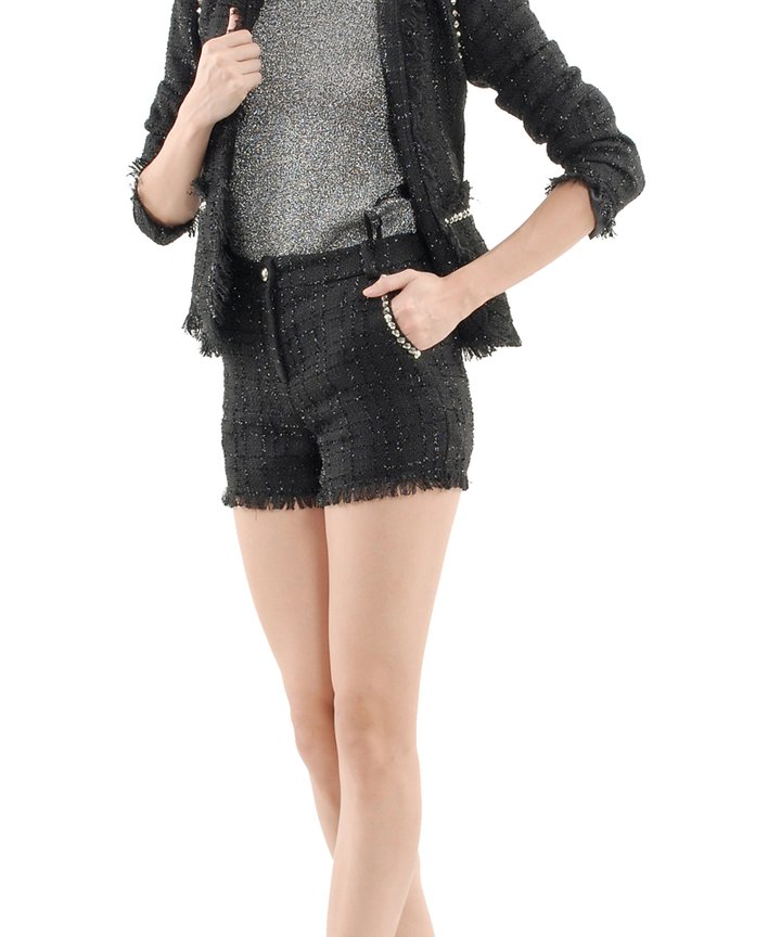 Chloe Tweed Suit - Shorts