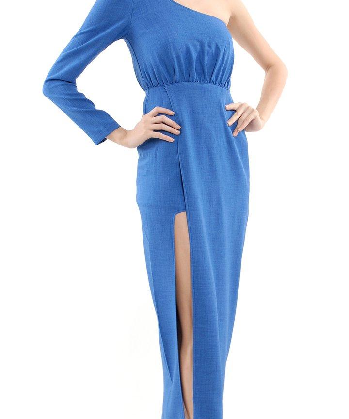 Yves Slit Toga Maxi Dress
