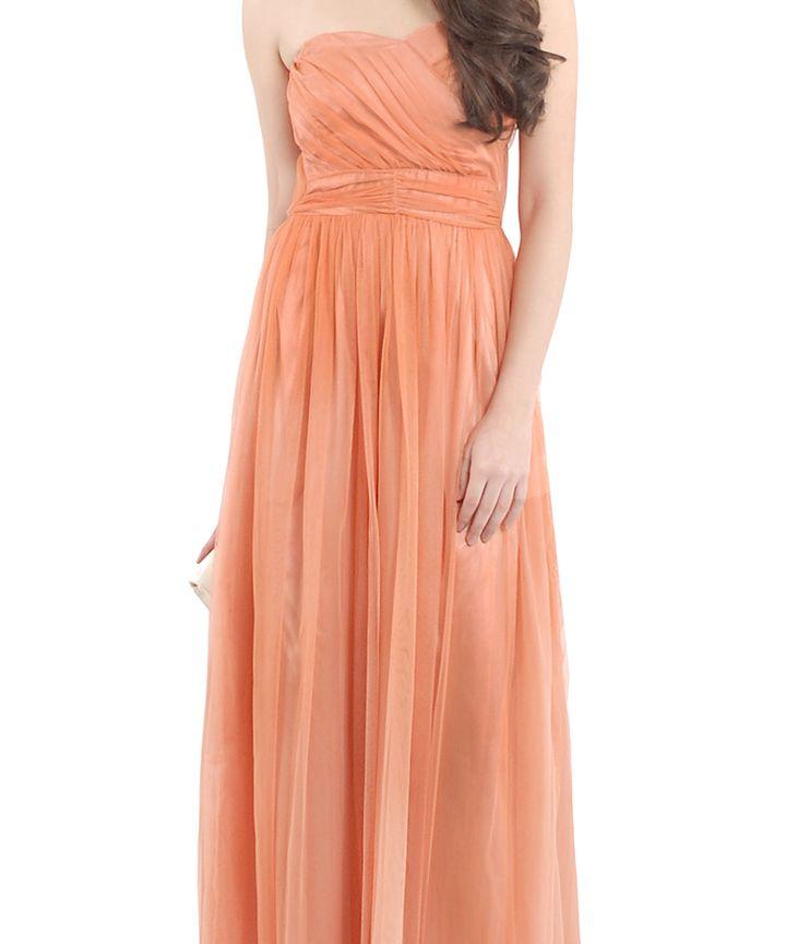 Prague Luxe Tulle Maxi Dress
