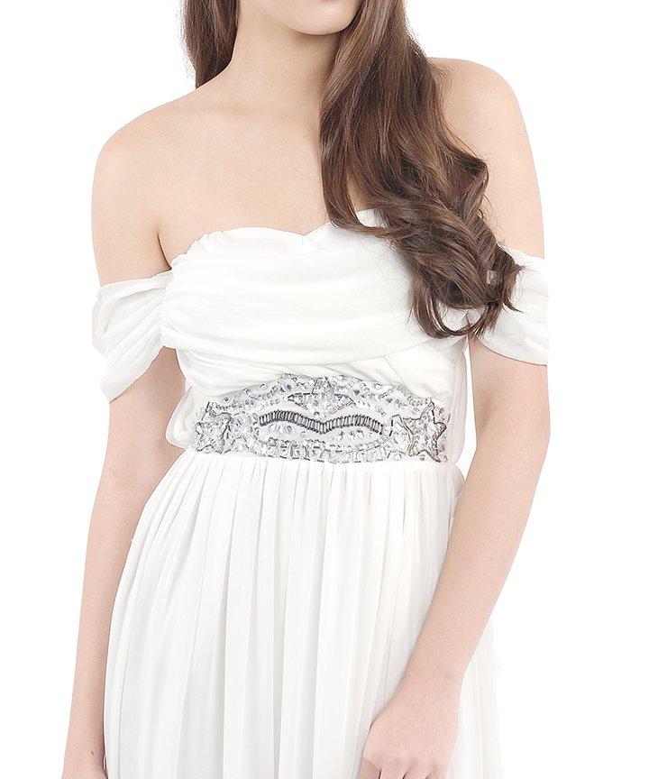 Cartier Luxe Bejewelled Maxi Dress