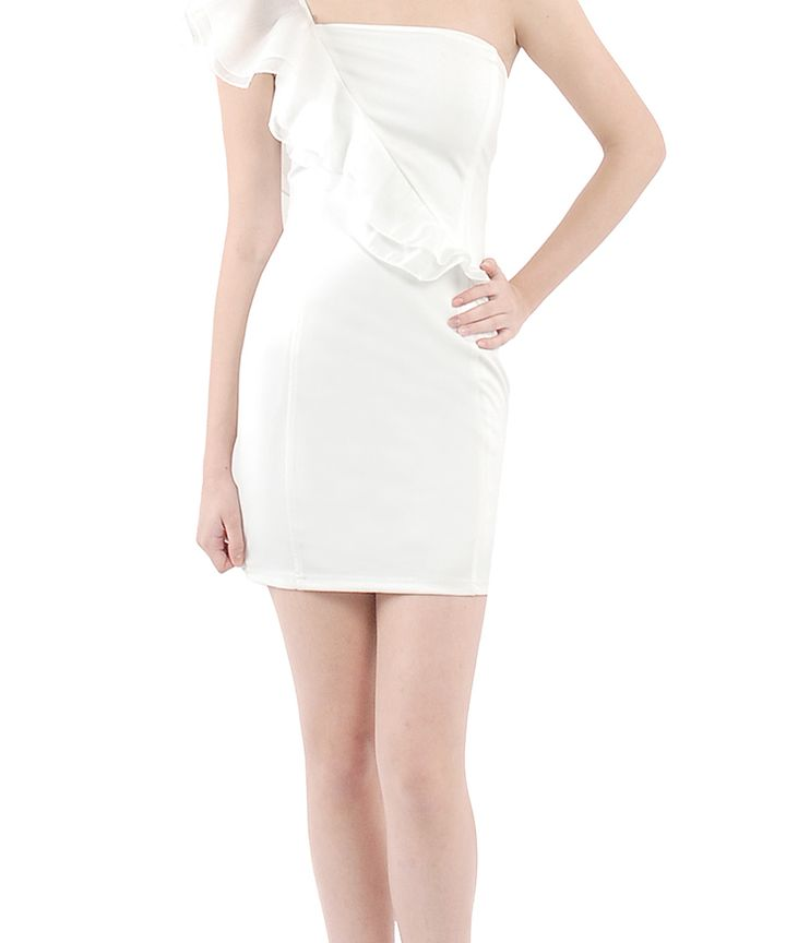 Noelle Romance Toga Mini Dress