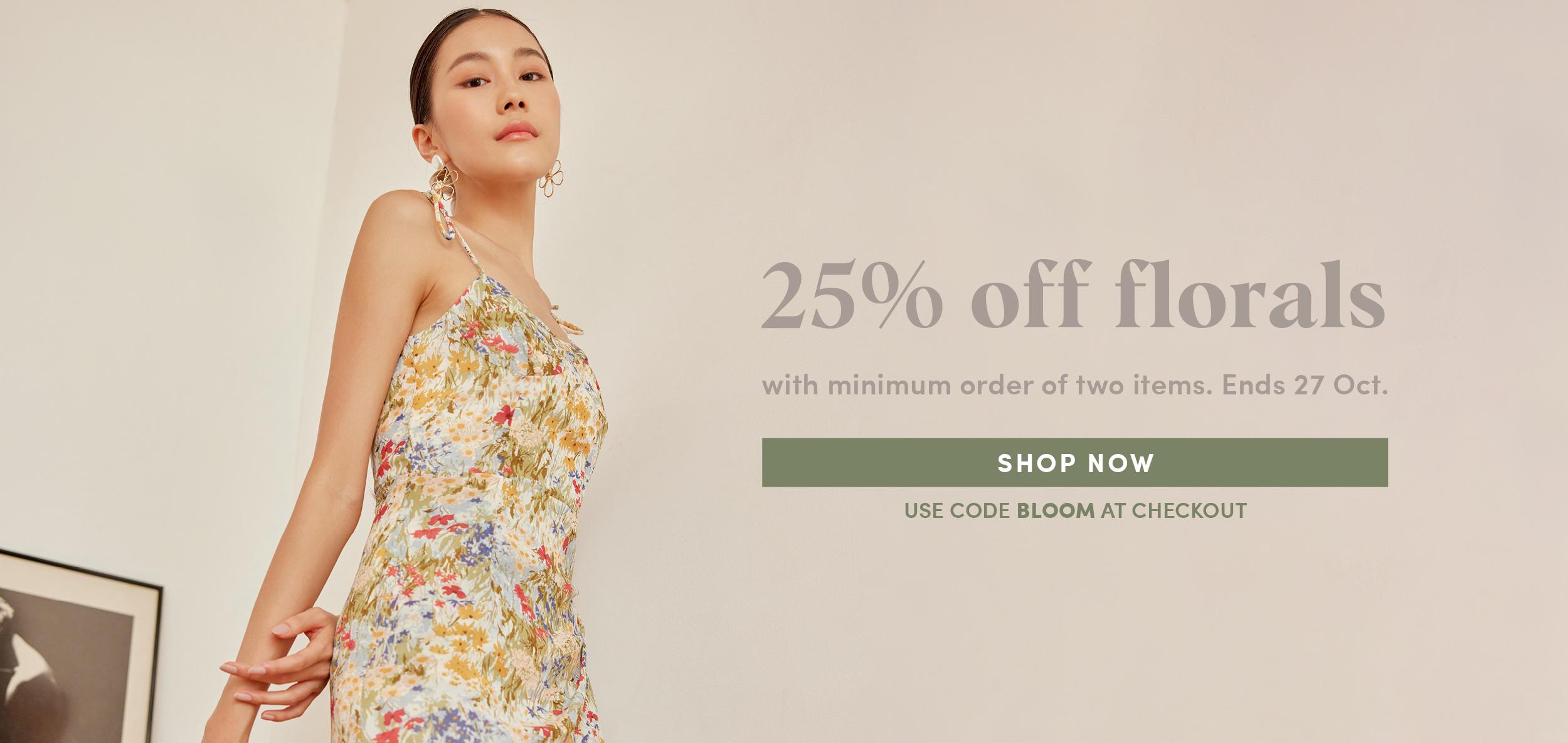 25% Off Florals