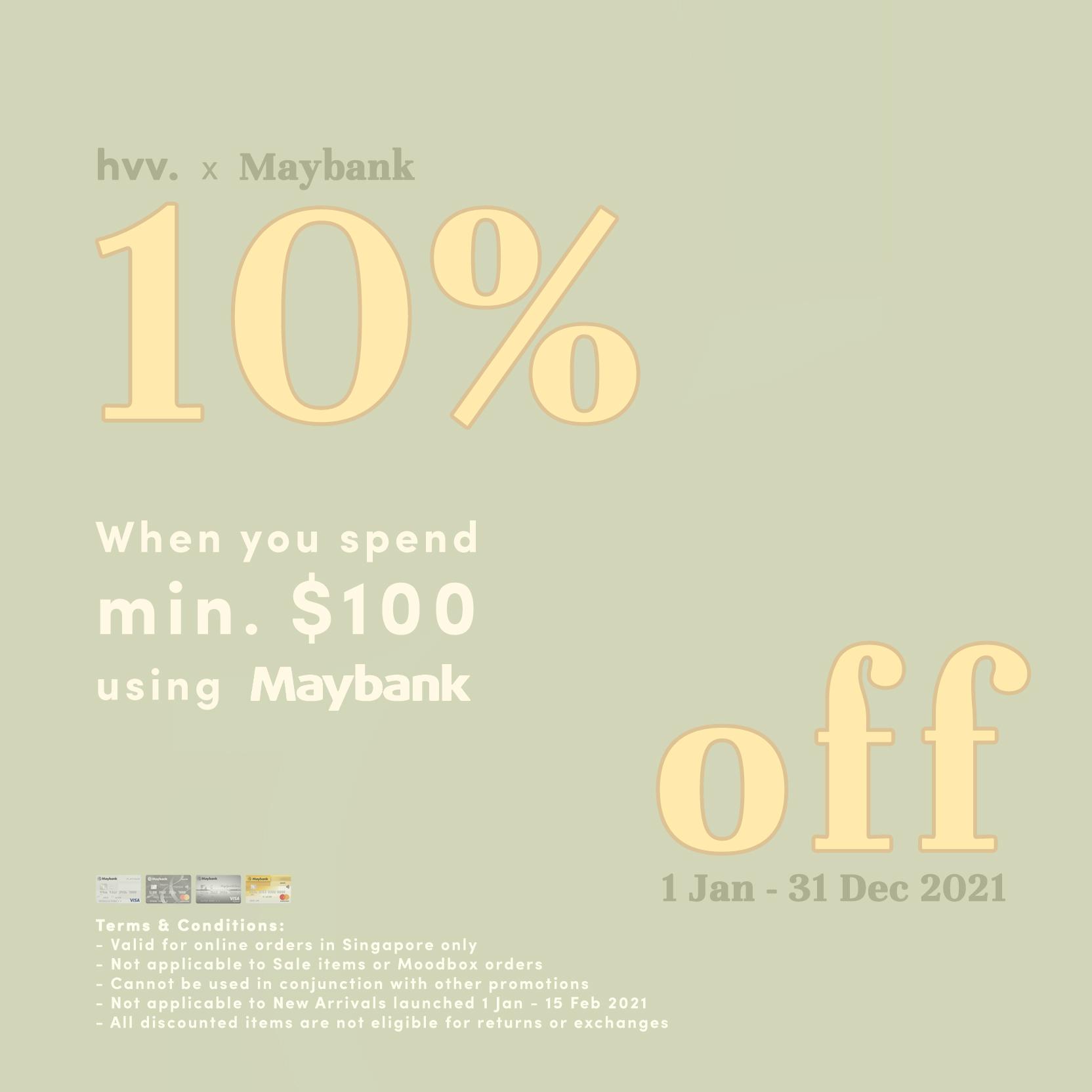 Maybank Card Promo