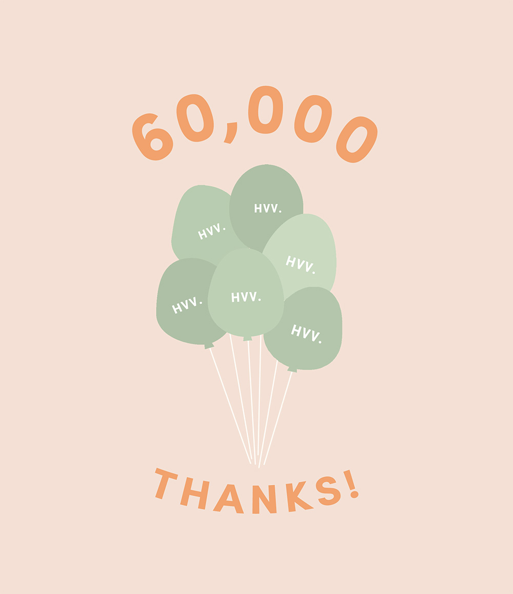 Thank You For 60,000 Followers