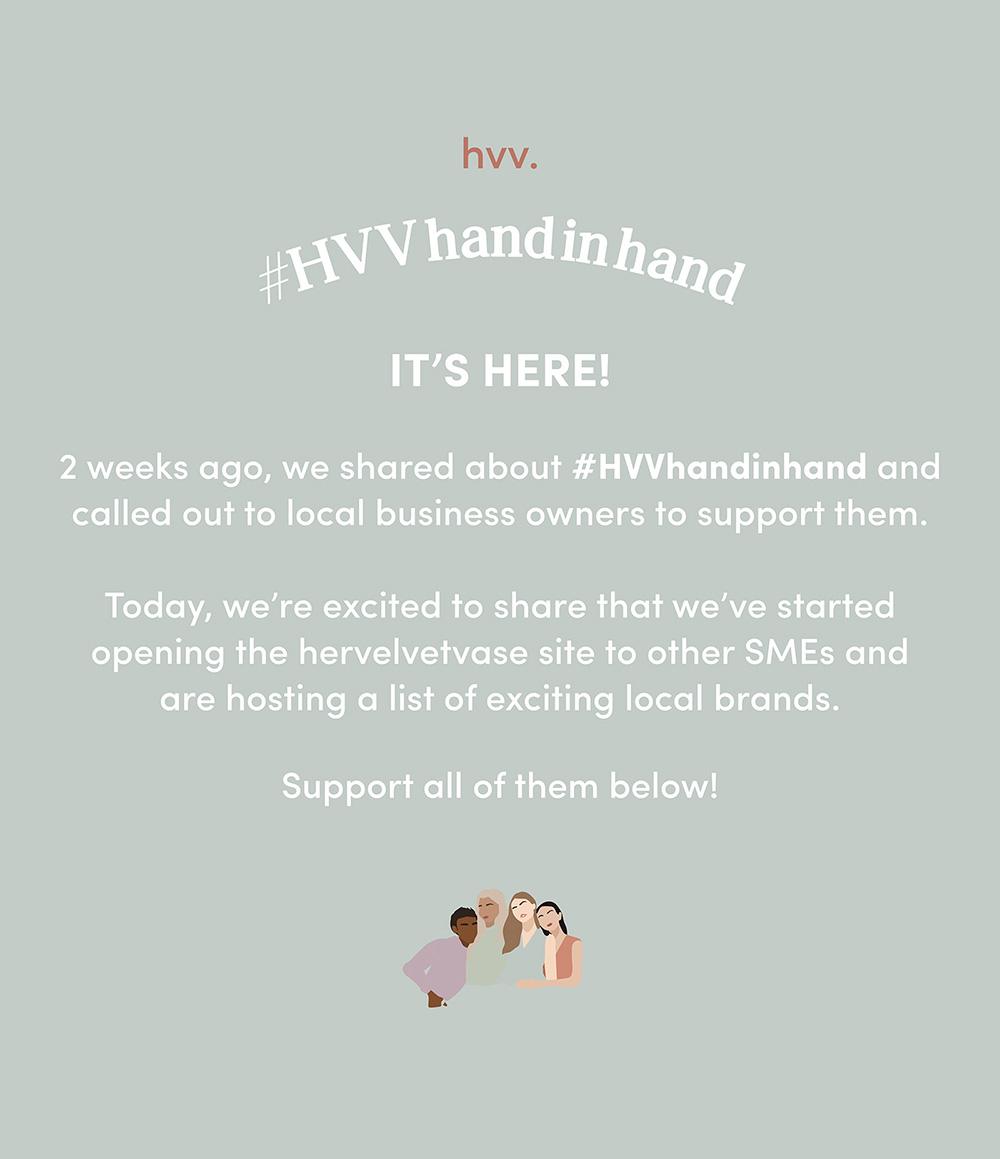 #HVVhandinhand is finally here!