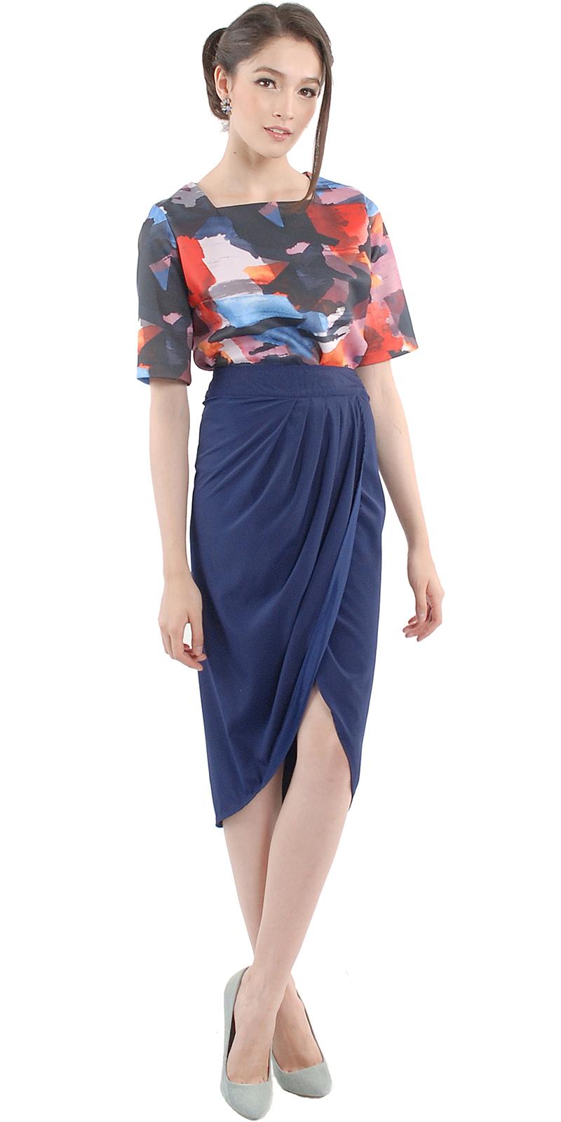 Tulip Midi Skirt | Her Velvet Vase