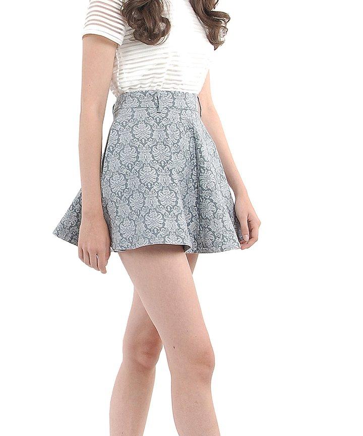 Terracotta Motif Skirt