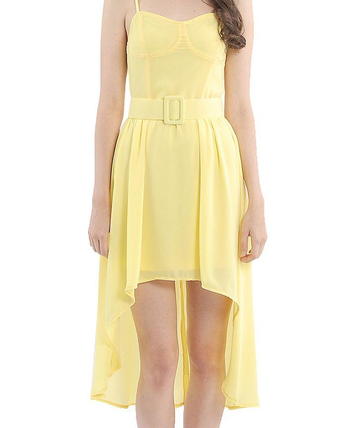 Marcelle Cascade Midi Dress