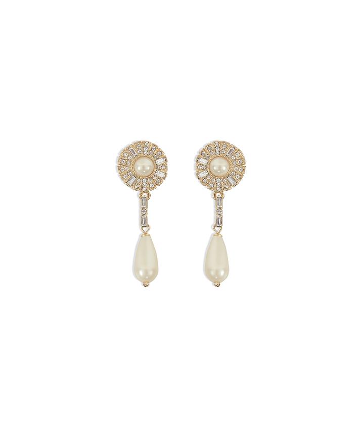 Chantilly Pearl Earrings - Restock