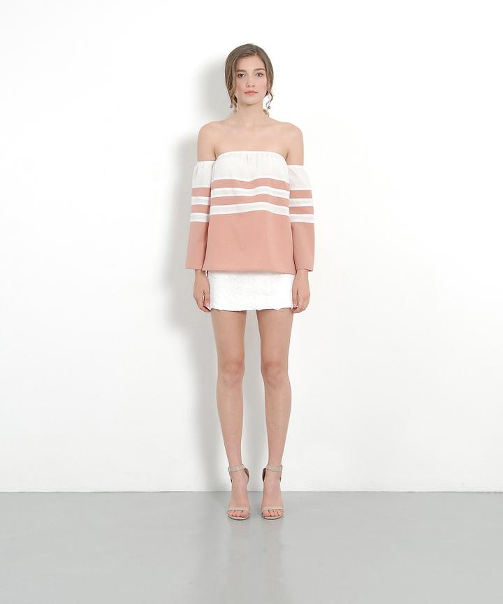 Hyacinth Lace Skirt - White