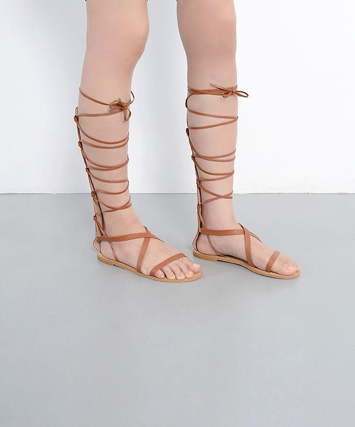 Gladius Lace Up Sandals
