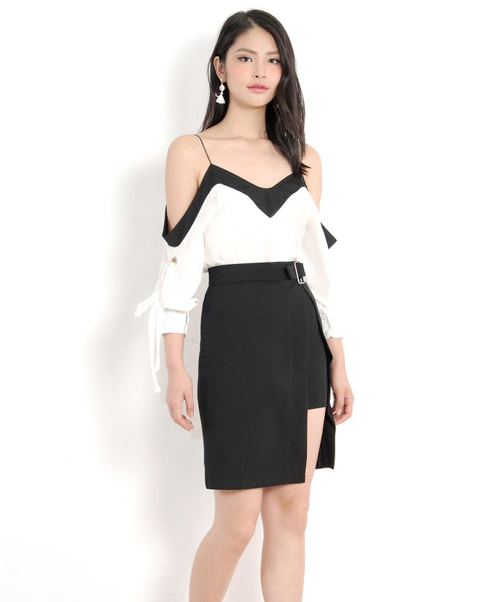 Whitney Contrast Blouse