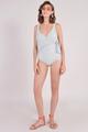 Dorothea Overlay Monokini Grey womens swimwear