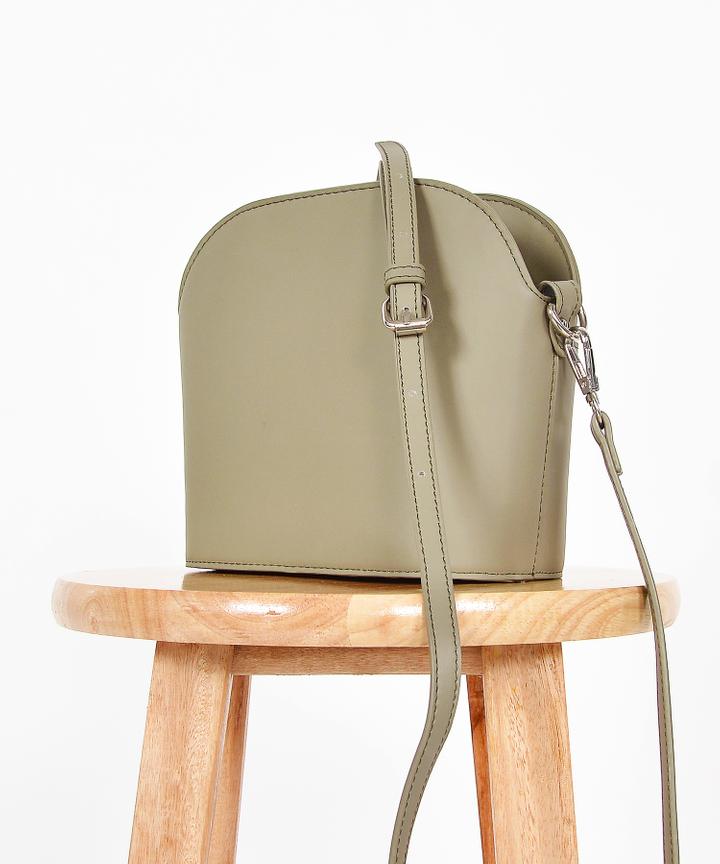 Mitzi Sling Bag - Green Grey