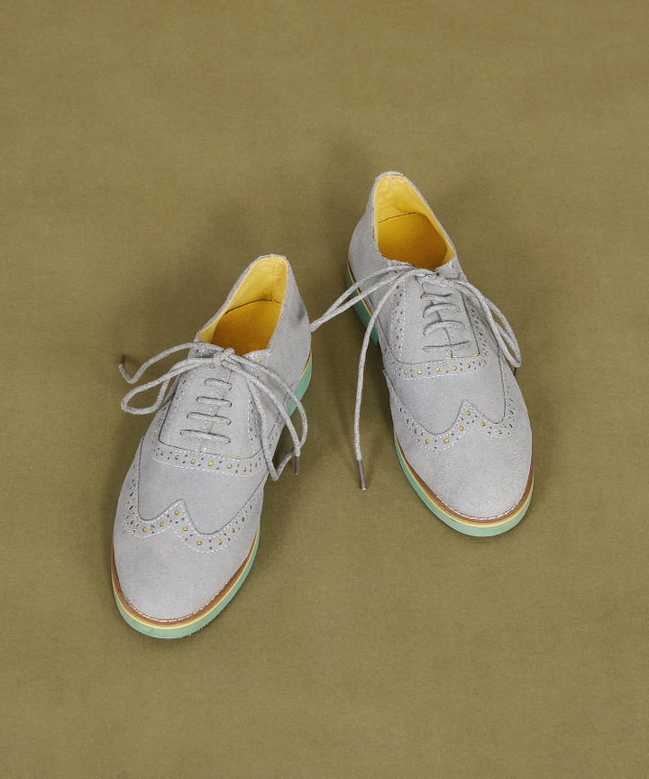 Crawford Suede Oxfords