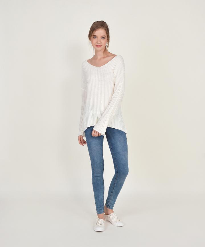 Sundance Sweater - White