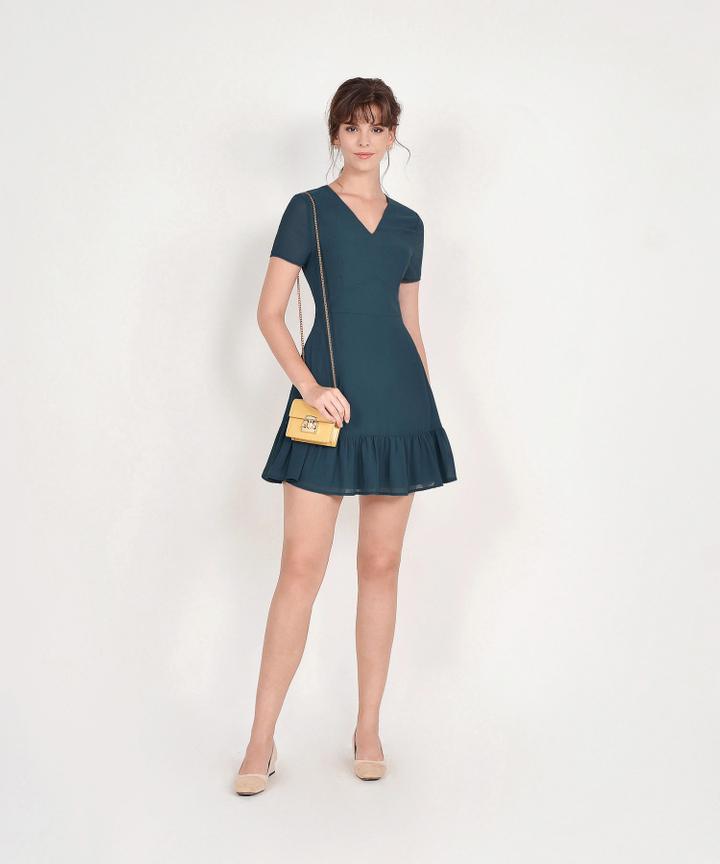 Sofia Dress - Teal