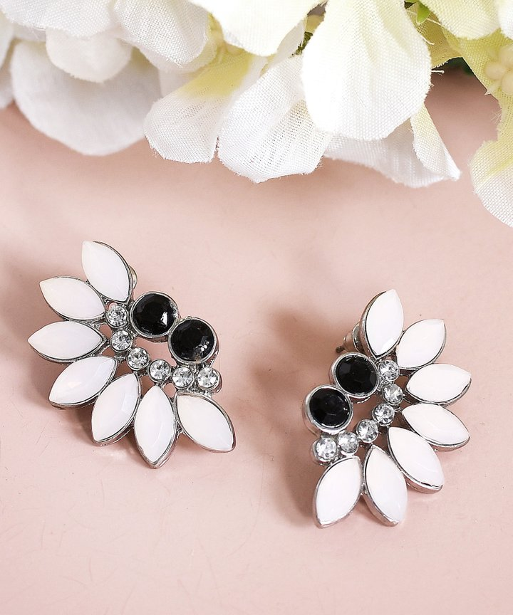 Clementine Marquise Fan Earrings