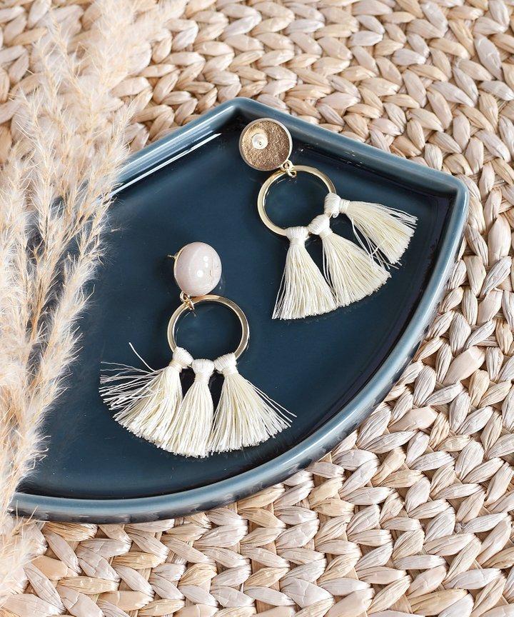 Rumi Tassel Earrings