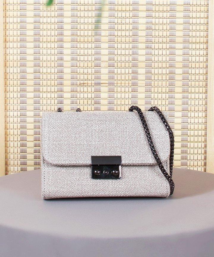 Plisse Textured Bag