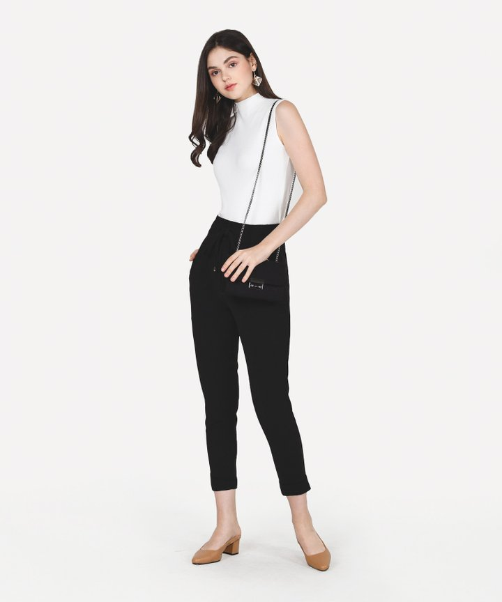 Ford Relaxed Trousers - Black