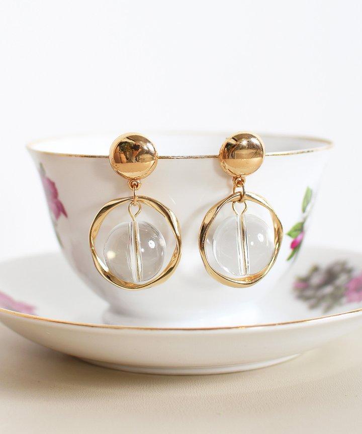 Bergamot Glass Earrings