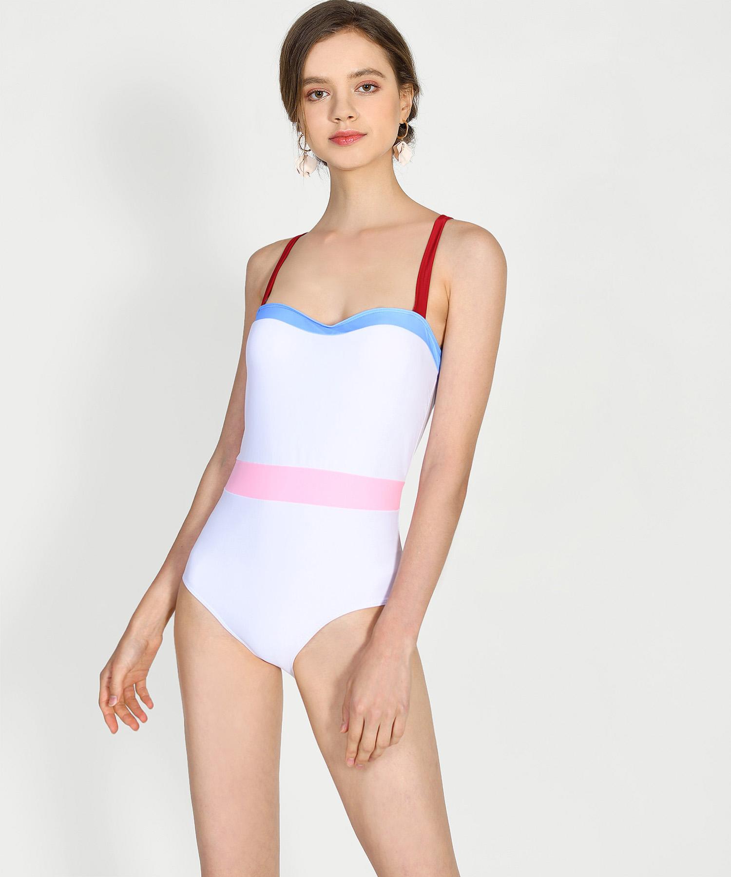 Colourblock Swimsuit