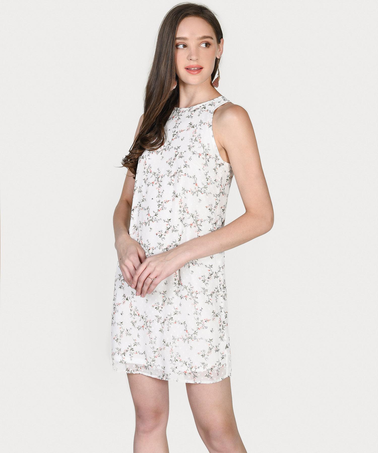 haylen-floral-textured-shift-dress-white-6