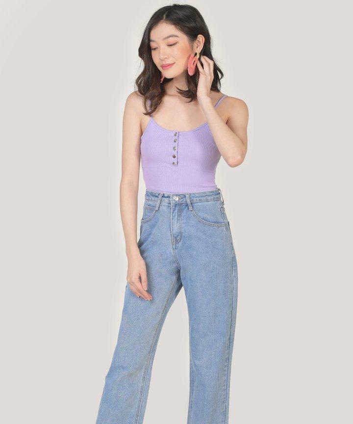Piccolo Knit Bodysuit - Lilac