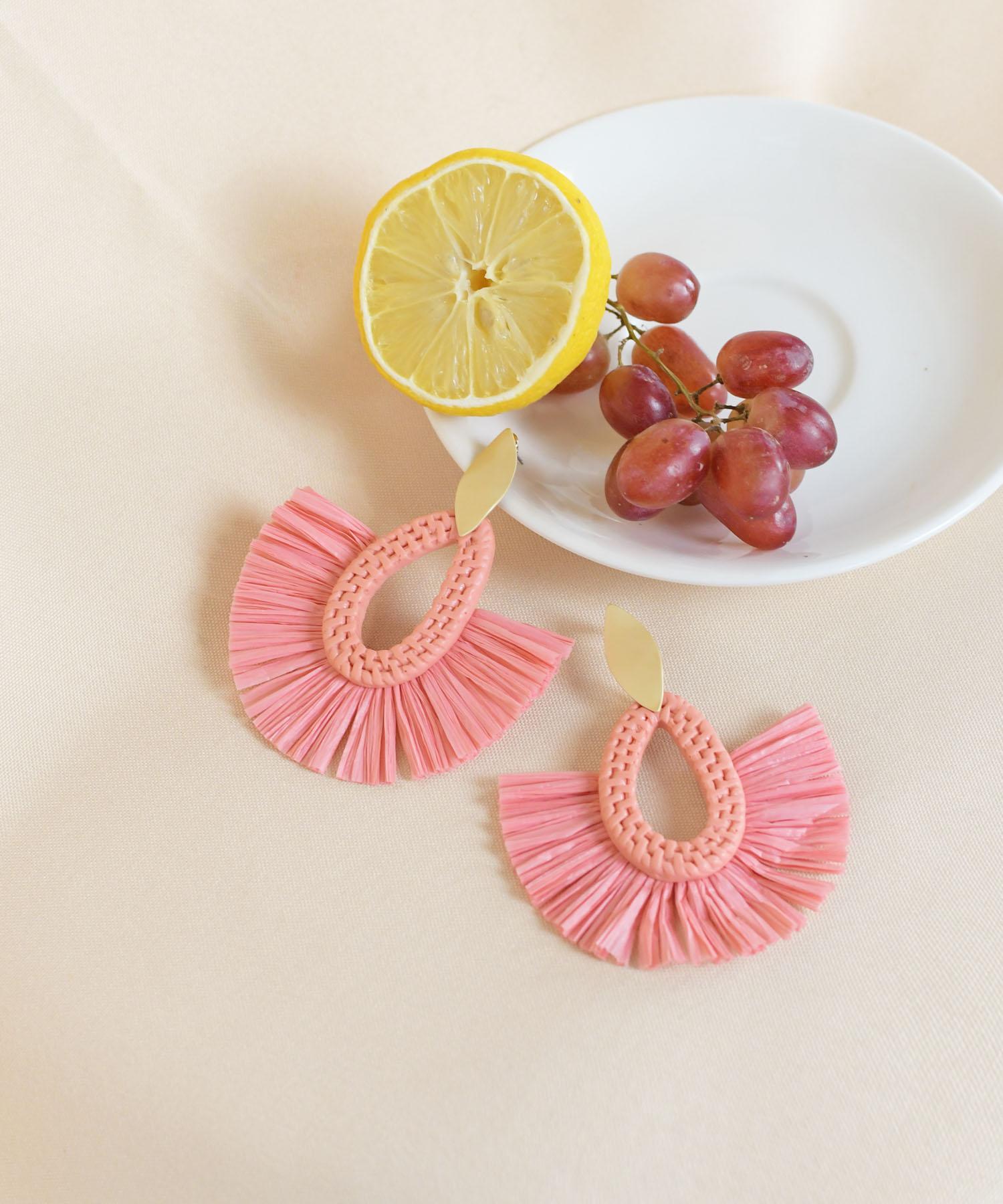 santi-woven-earrings-coral-1