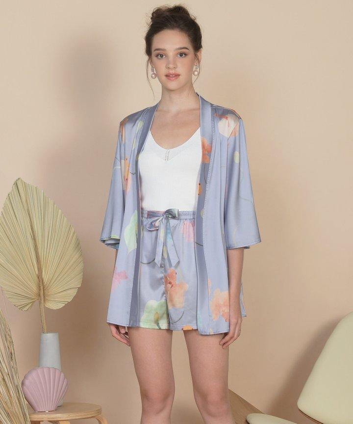 Bellflower Kimono - Hydrangea Blue (Restock)
