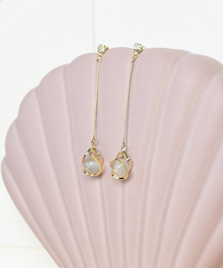Flutes Drop Earrings