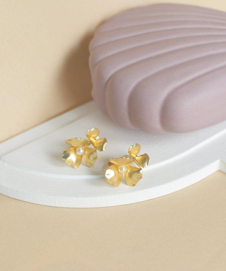 Frivole Floral Statement Earrings