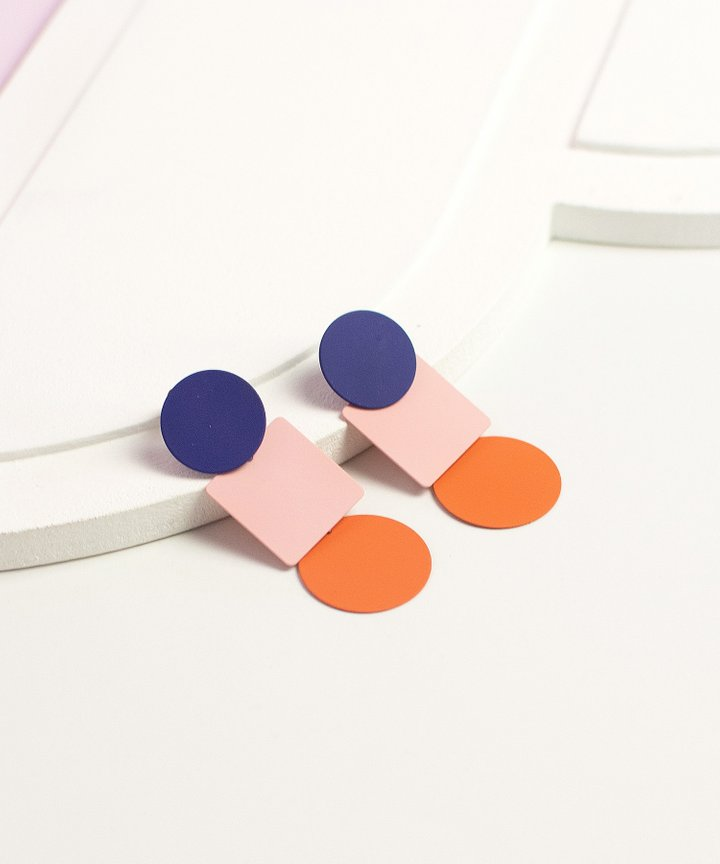 Arden Colourblock Earrings