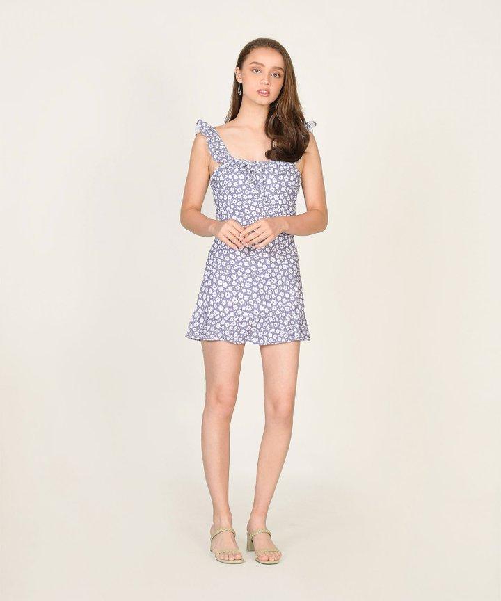 Halette Floral Mini Dress