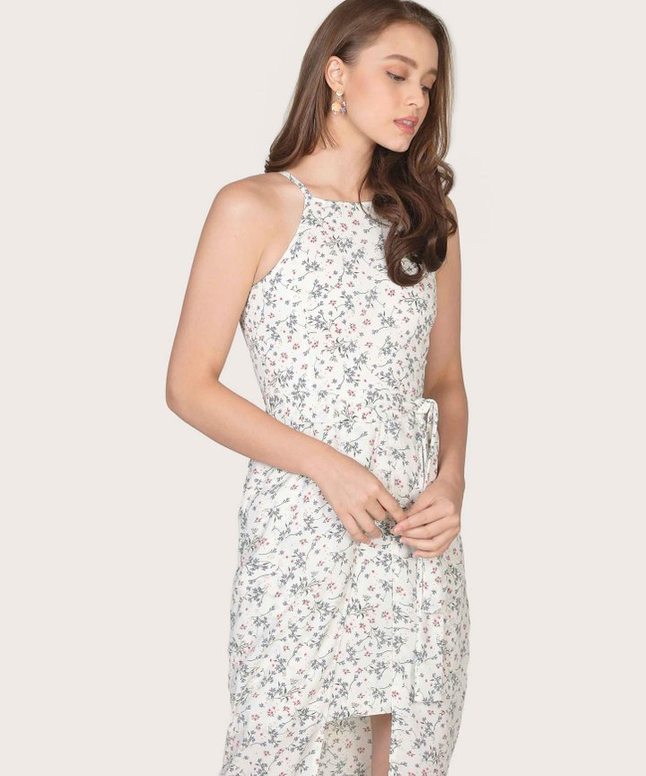 Philosophy Floral Dress - Off-White