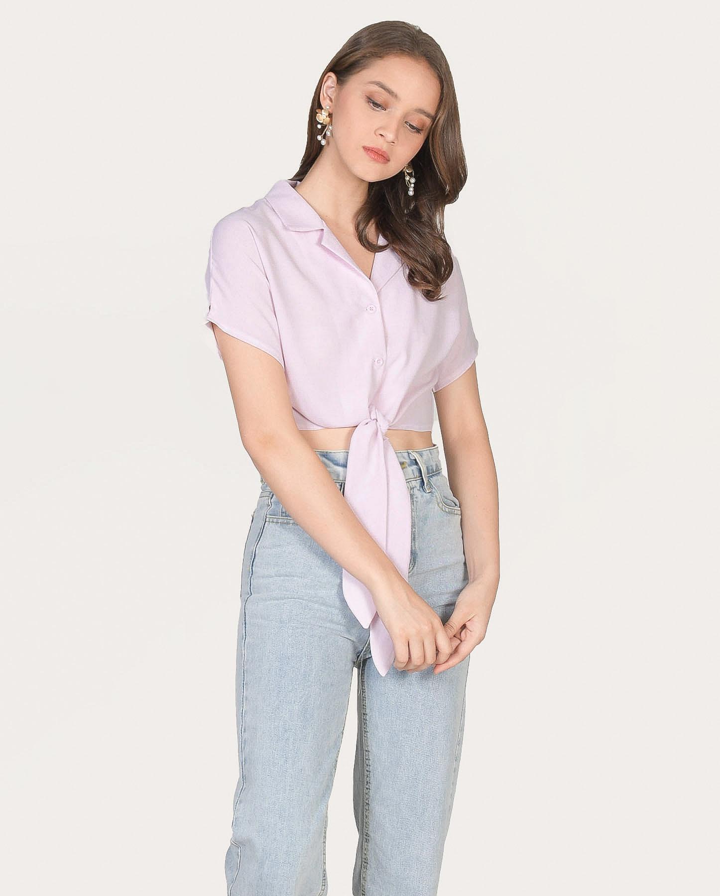 riley-knot-blouse-pale-lilac-1