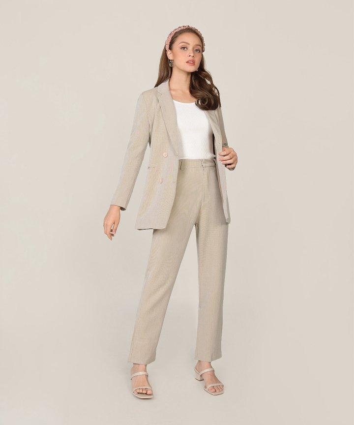 Elin Pants - Pebble Grey