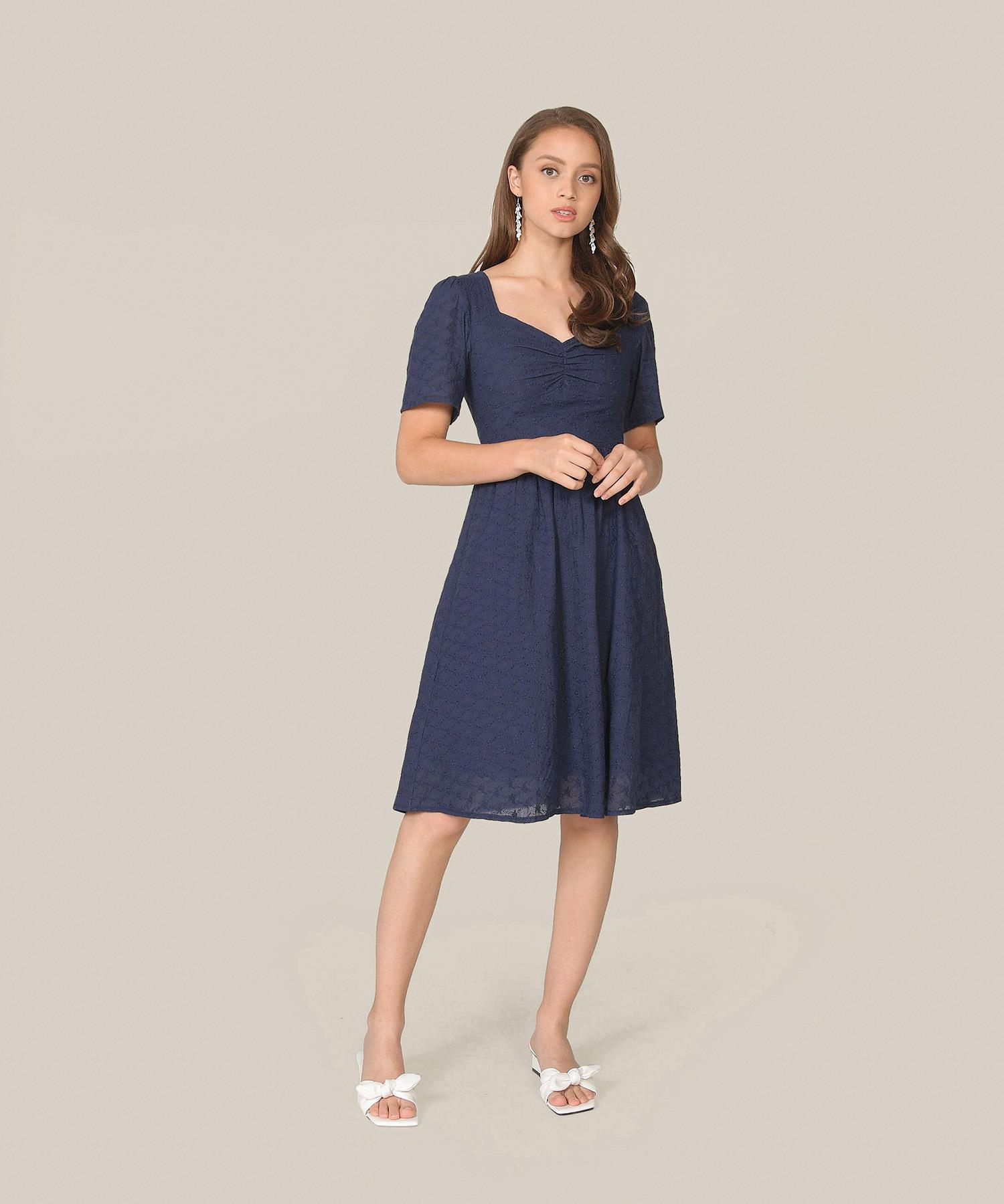 escena-embroidered-midi-dress-navy-1
