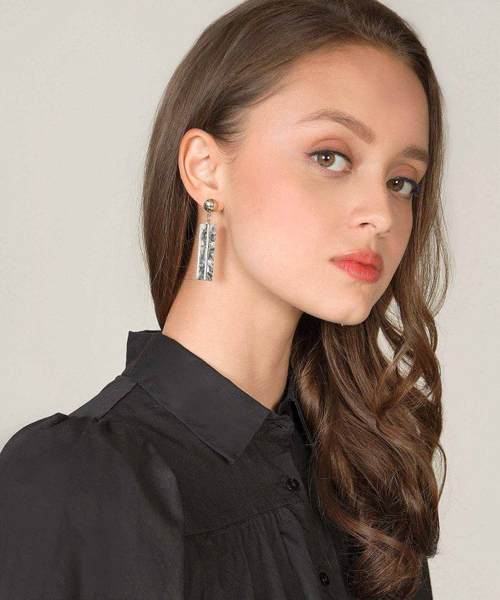 Cadence Rectangular Earrings