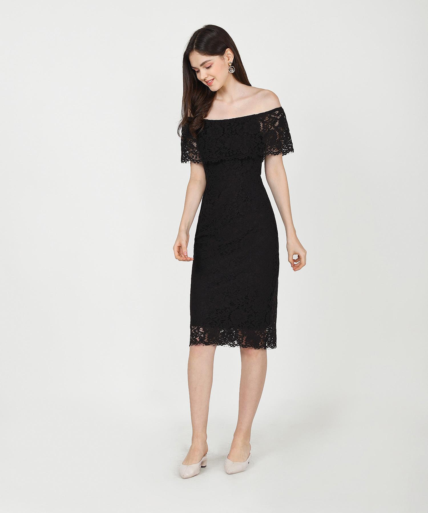 marie-lace-off-shoulder-midi-dress-black-1