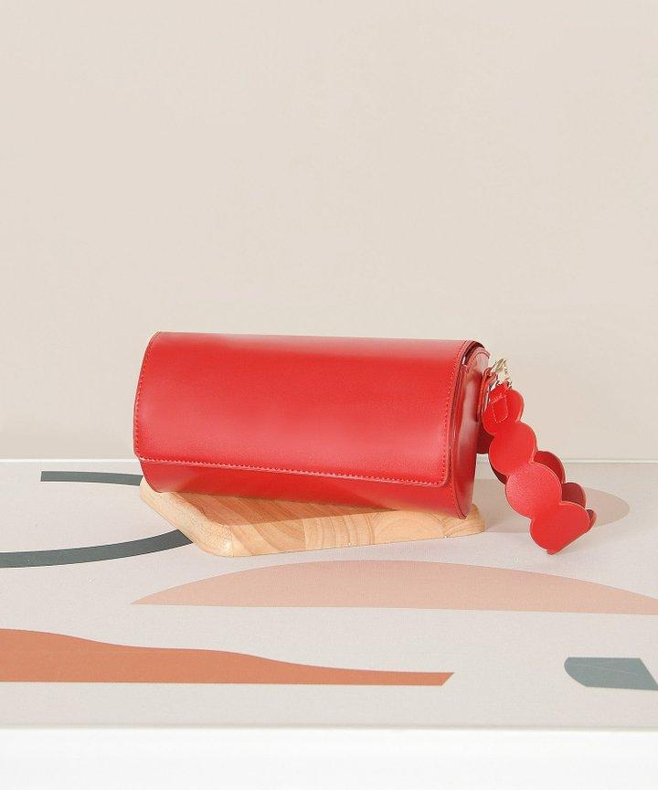 Demilune Bag - Ruby