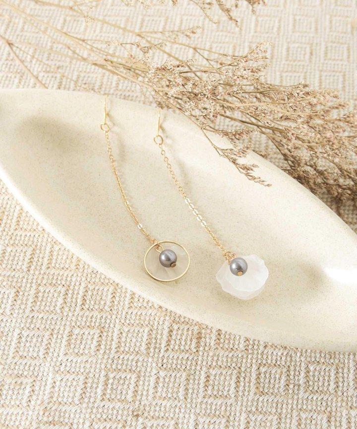 Isleton Petal Drop Earrings