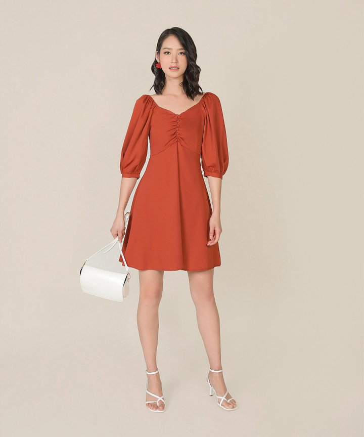 Verona Ruched Dress