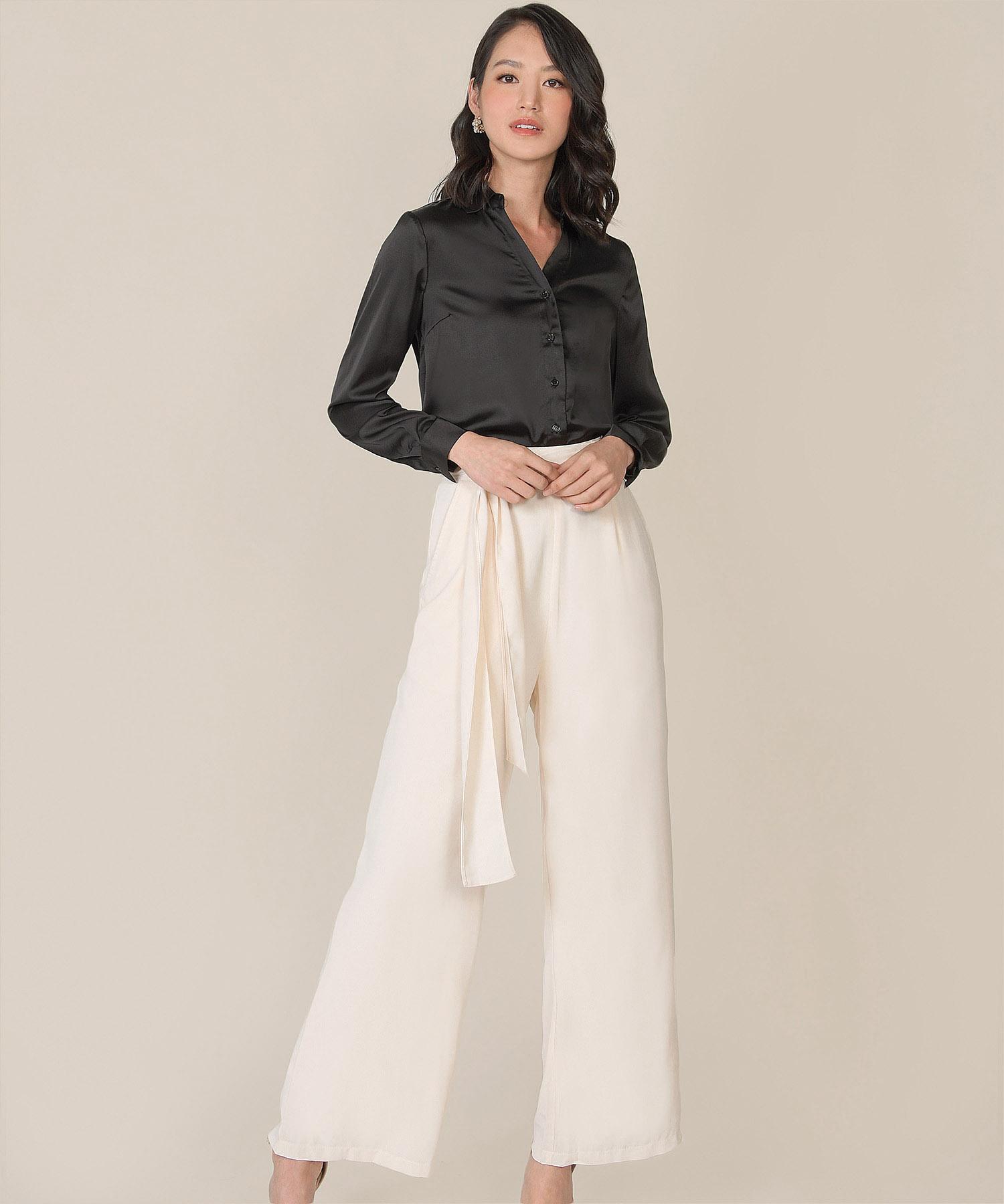 ambhar-satin-blouse-black-1