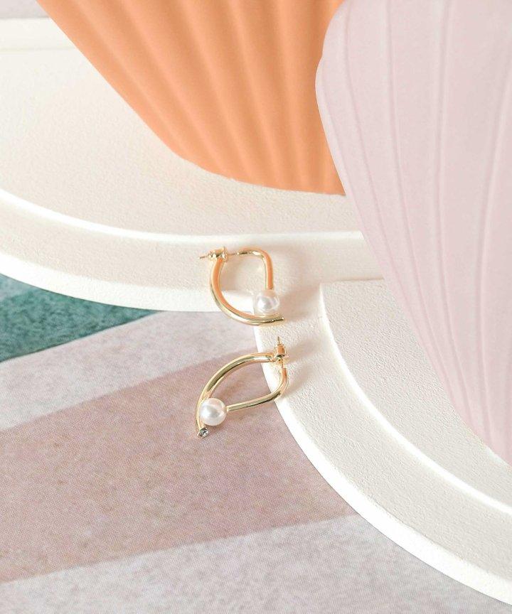 En Saison Pearl Earrings (Backorder)