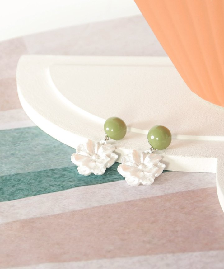 Ephemera Floral Earrings