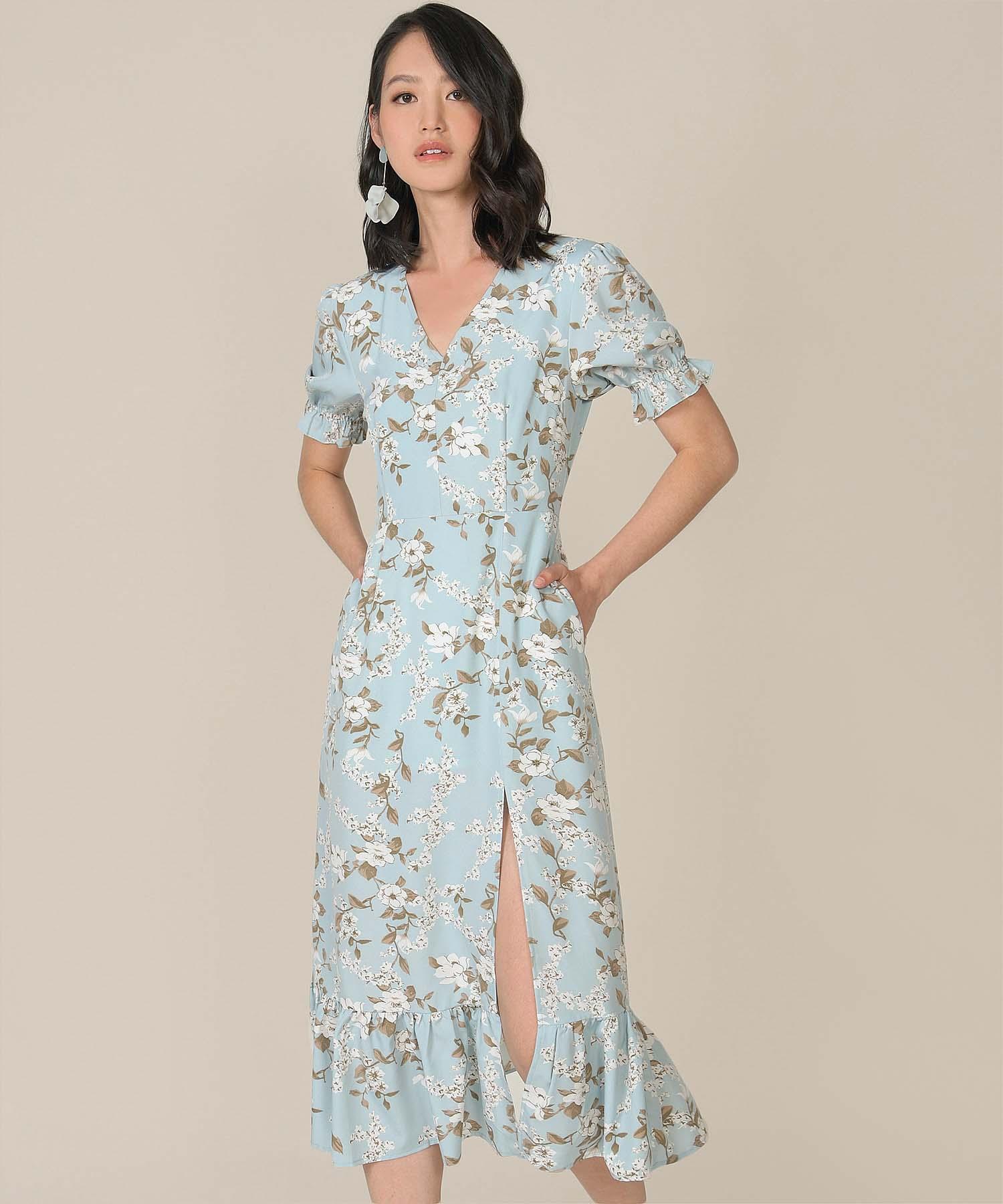 azure-floral-mermaid-midi-dress-pale-blue-1