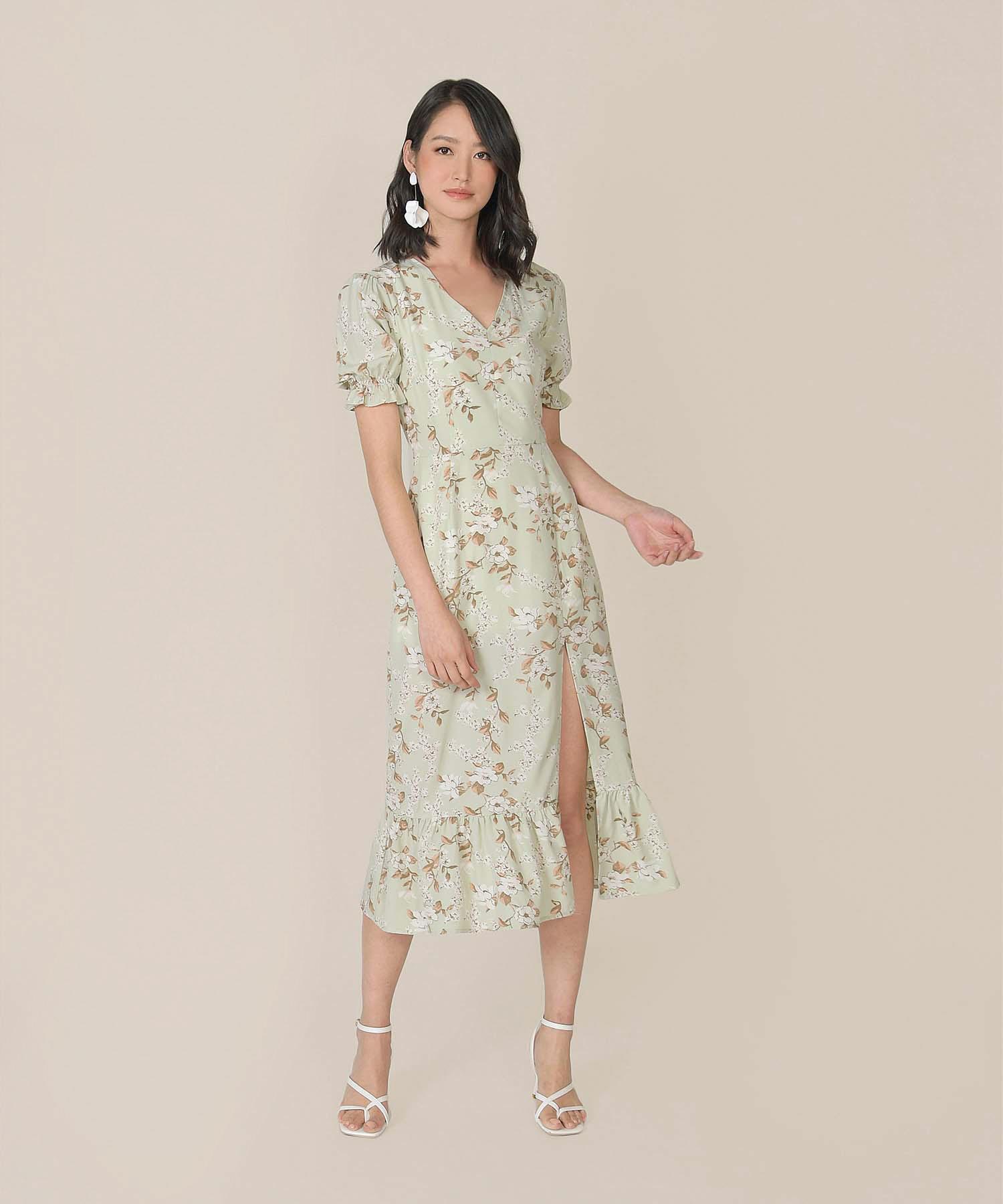 azure-floral-mermaid-midi-dress-pale-pistachio-1