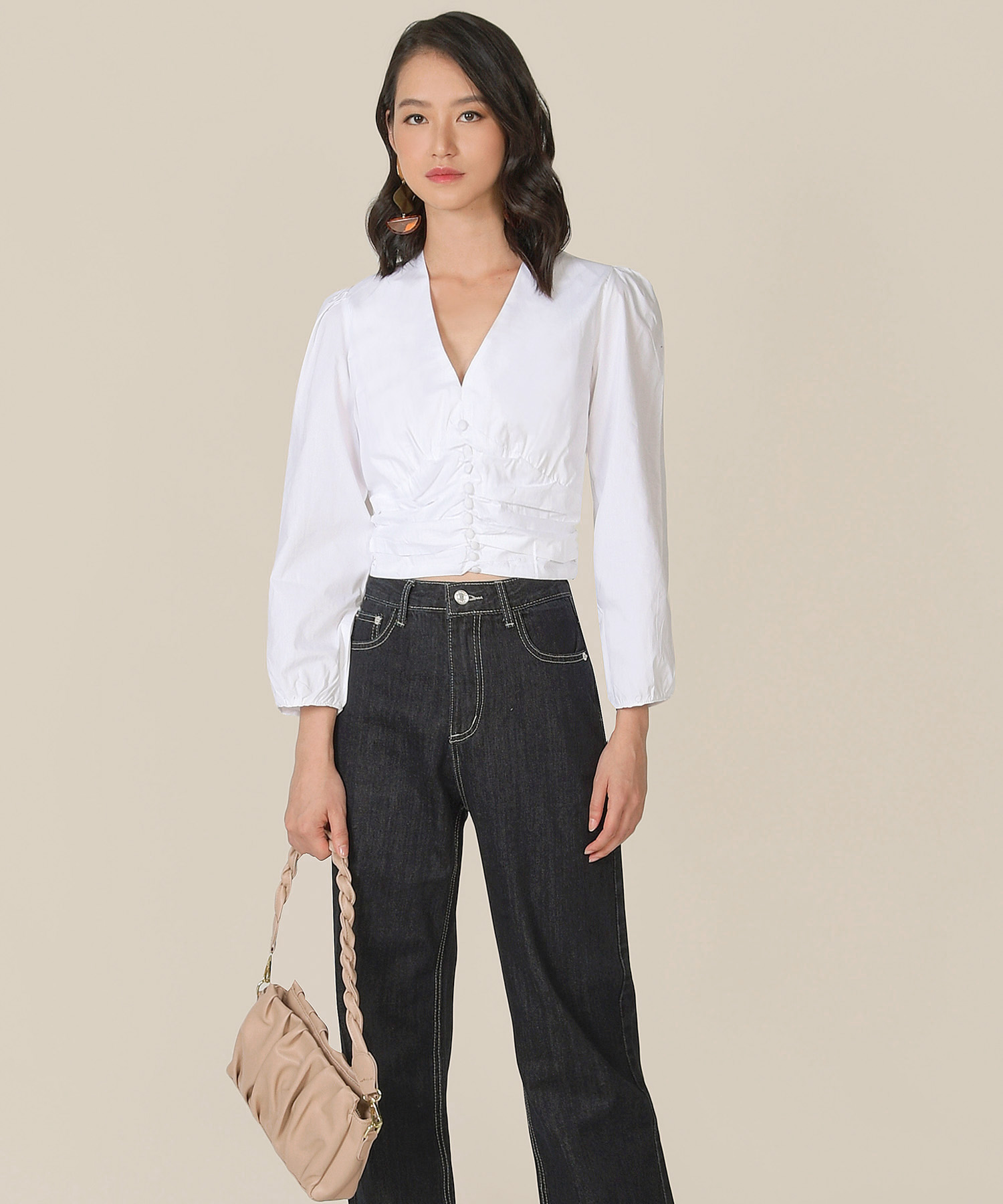 beauvoir-ruched-blouse-white-2
